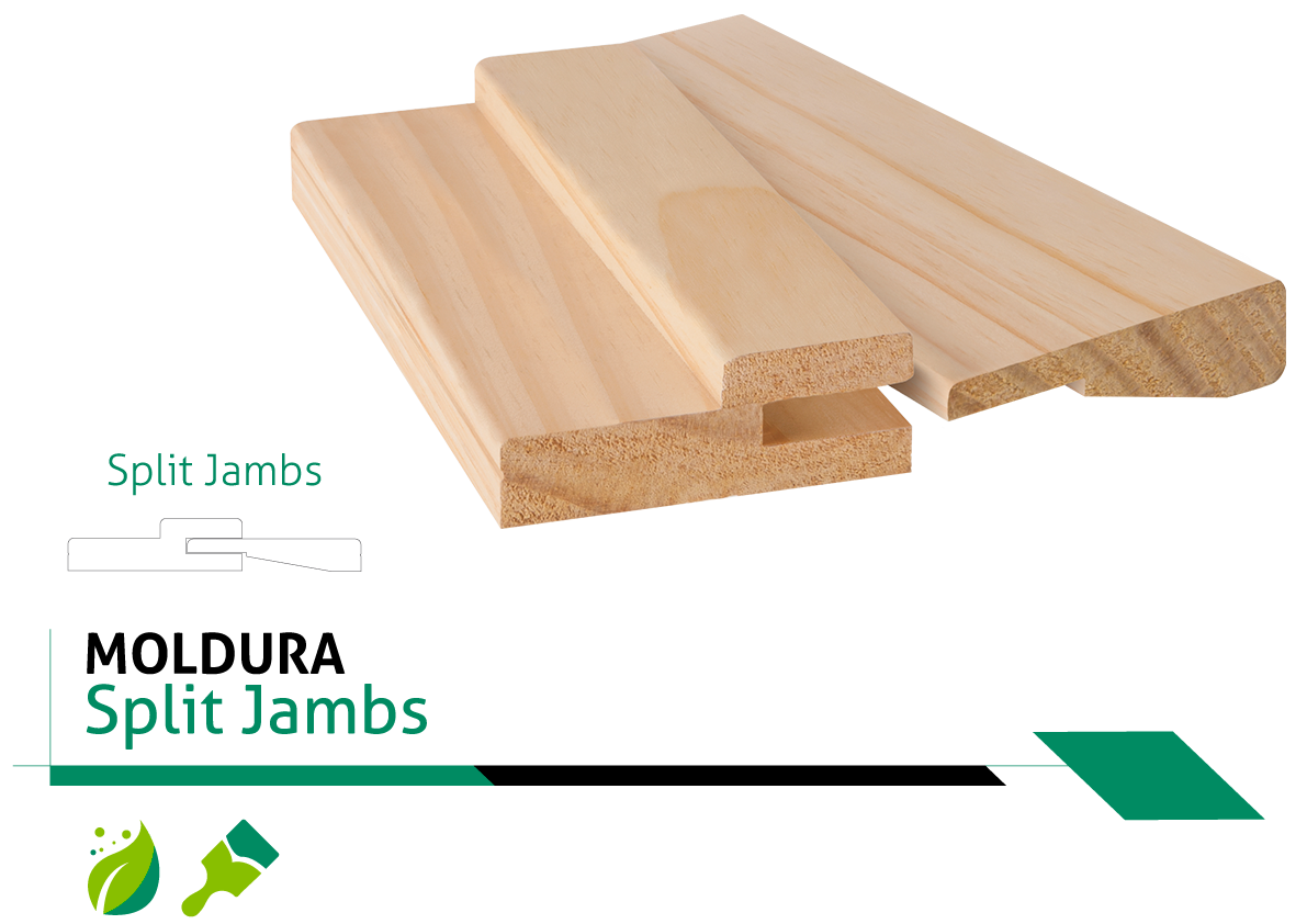 Moldura Split Jambs